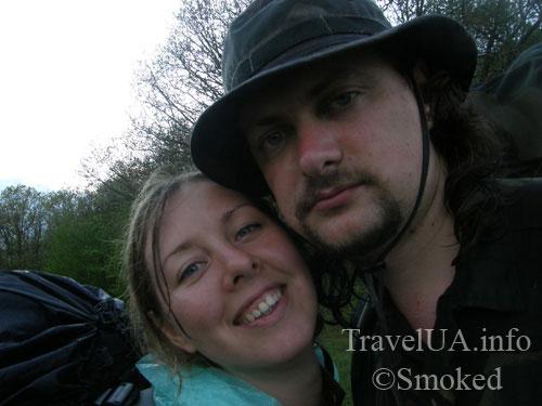 пара туристов