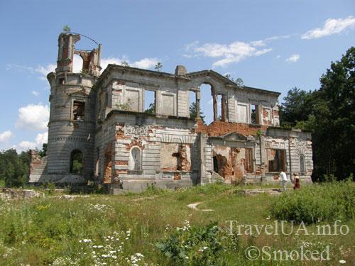 Дениши, дворец, Терещенко