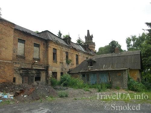 Турчиновка, Уваров, Терещенко, дворец