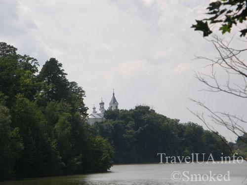 Дениши, пейзаж, скалы, Тетерев, Тригорский монастырь