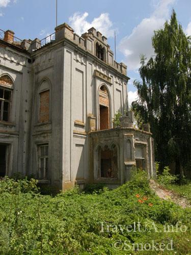 Червоне, дворец, Тышкевич, Грохольский, монастырь, Терещенко