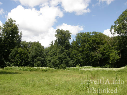 Ивница, поместье, Де Шодуар, пейзаж