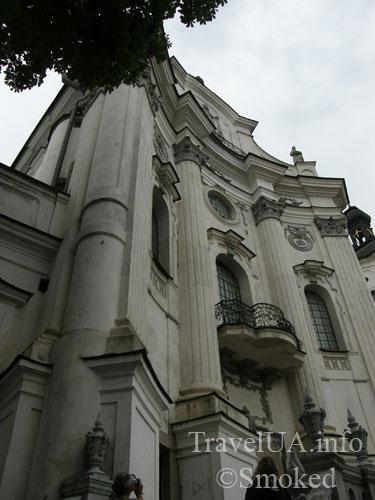 Монастырь кармелитов, Бердичев, костел, история