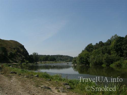 Южный Буг, река, пейзаж, природа, Винницкая область