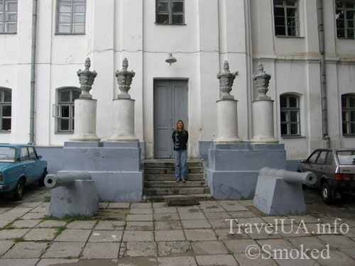 Монастырь кармелитов, Бердичев, история