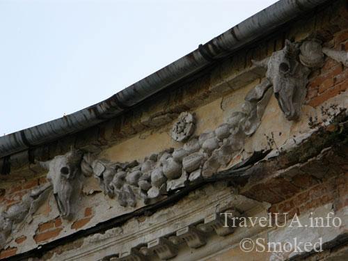 Вороновица, дворец, Грохольский, Можайский, колыбель авиации, история, череп