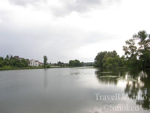 Бердичев, река Гнилопять, пейзаж