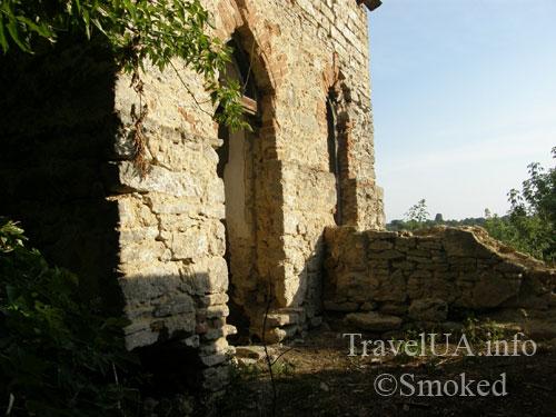 Шаргород, замок, башня, часовня
