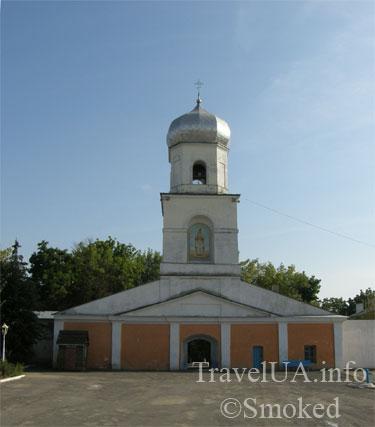 Шаргород, стена, колокольня, Николаевский монастырь