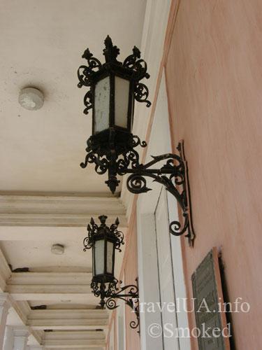 тульчин, потоцкие, дворец, старинные фонари