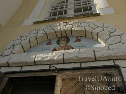 Шаргород, церковь, Николаевский собор, Николаевский монастырь, фреска
