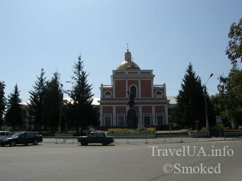 тульчин, собор, суворов, памятник суворову