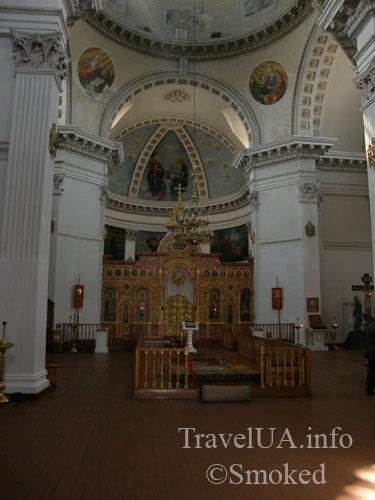 тульчин, собор, интерьер, убранство