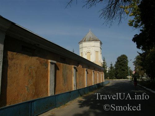 Шаргород, стена, башня, Николаевский монастырь
