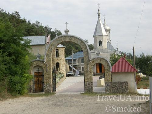 Молдова, Косэуць, монастырь