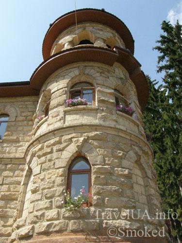 Молдова, Рудь, монастырь, башня