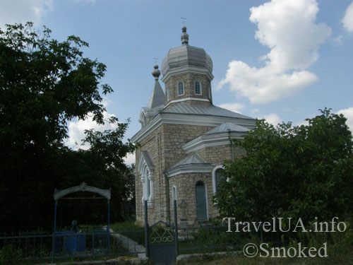 Молдова, Рудь, церковь, кладбище