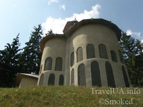 Молдова, Рудь, монастырь, церковь