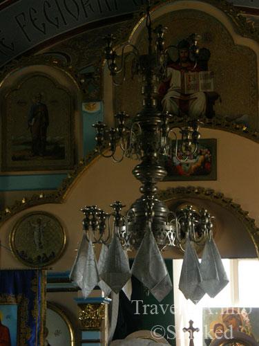 Ципово, монастырь, верхний монастырь, церковь, интерьер, убранство