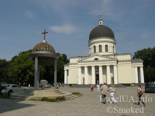 Кишинев, Молдова, церковь, центр