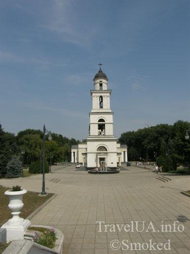Кишинев, Молдова, колокольня, центр