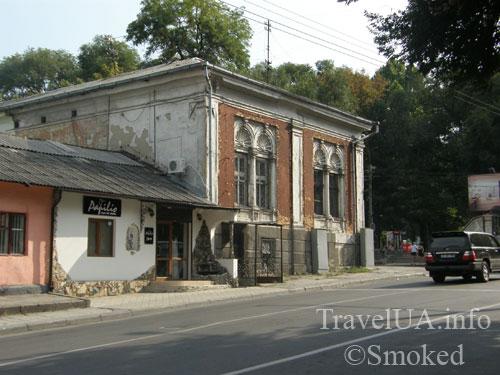 Кишинев, Молдова, старый дом, усадьба