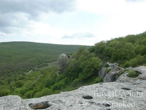 Крым, Эски-Кермен, горы