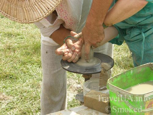 Свирж-2009, мастер-класс по гончарному делу