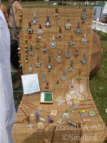 Свирж-2009, выставка, сувениры, украшения