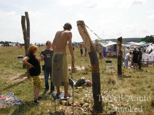 Свирж-2009, выставка, идолы, язычники
