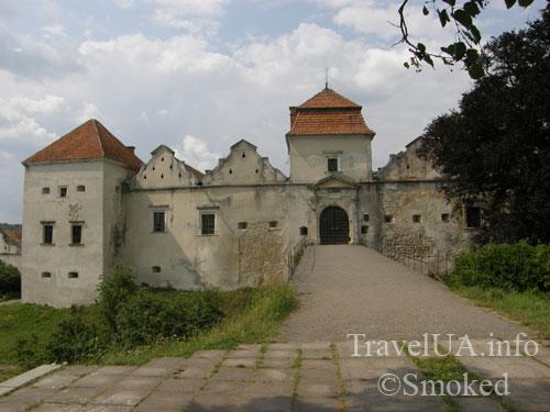 Свирж, Свиржский замок