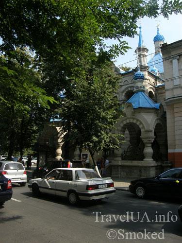 Кишинев, Молдова, женская гимназия, капелла