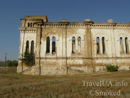 Лиманское, Зальц, Одесская область, кирха