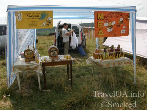 Свирж-2009, выставка, мед