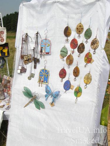 Свирж-2009, выставка, серьги