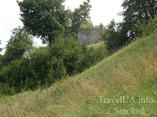 Свирж, Свиржский замок, Львовская область, бастион