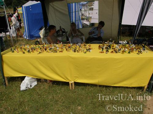 Свирж-2009, выставка, изделия из стекла