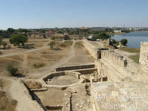 Белгород-Днестровский, крепость, Тира, Одесская область, раскопки