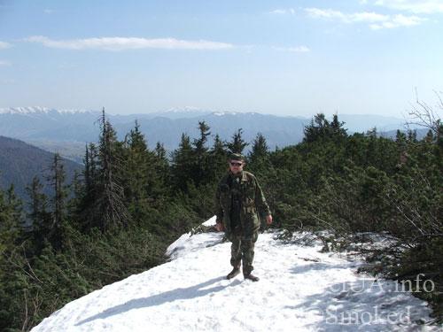 Закарпатье, Карпаты, Камянка, горы, снег