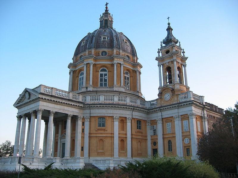 Турин, Суперга, базилика, церковь