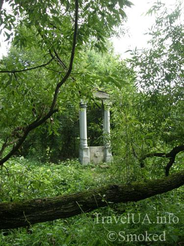 Олесько, Львовская область, парк, арка, портик