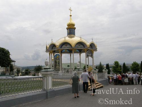 беседка, Почаев, Лавра, монастырь