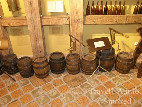 бочки, Львов, музей пива
