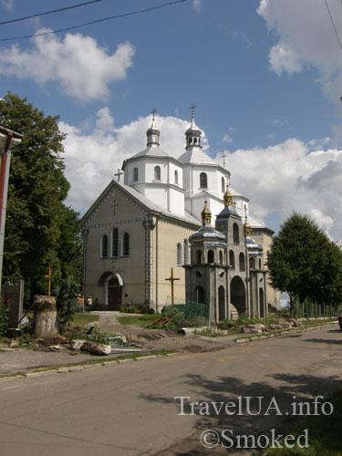 Буск, церковь, Нагорный