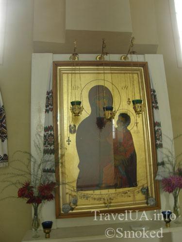 икона Богоматери, Подкамень, монастырь