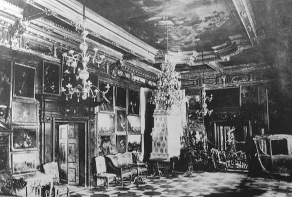 интерьер, Подгорцы, дворец Конецпольских