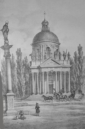 Кароль Ауэр, Подгорцы, костел святого Иосифа, усыпальница Жевусских, базилика