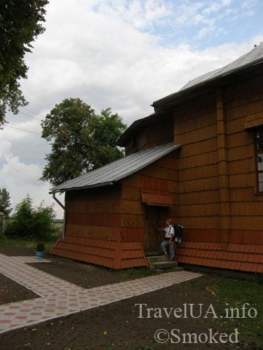 Куткир, церковь, деревянный храм