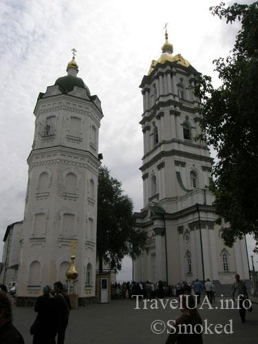 две башни, Почаев, Лавра, монастырь