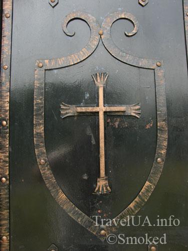 крест, ковка, Подкамень, монастырь